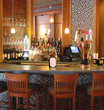 Photo of the bar at Winfield's
